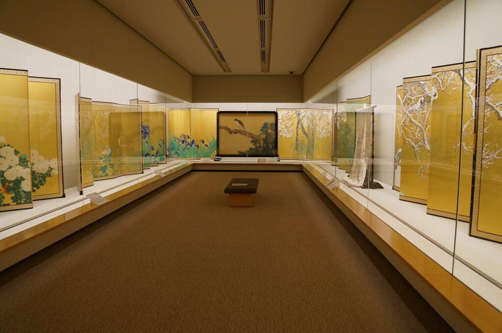 参考写真 2014年泉屋博古館分館展示風景